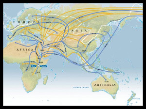 Genographic Migration, from National Geographic