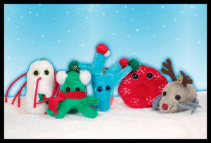 Giant Holiday Microbes