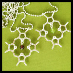Chlorophyll and Heme Necklaces