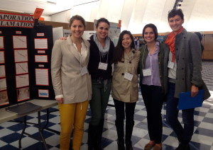 Ladies from CSUN's Women in Science Club